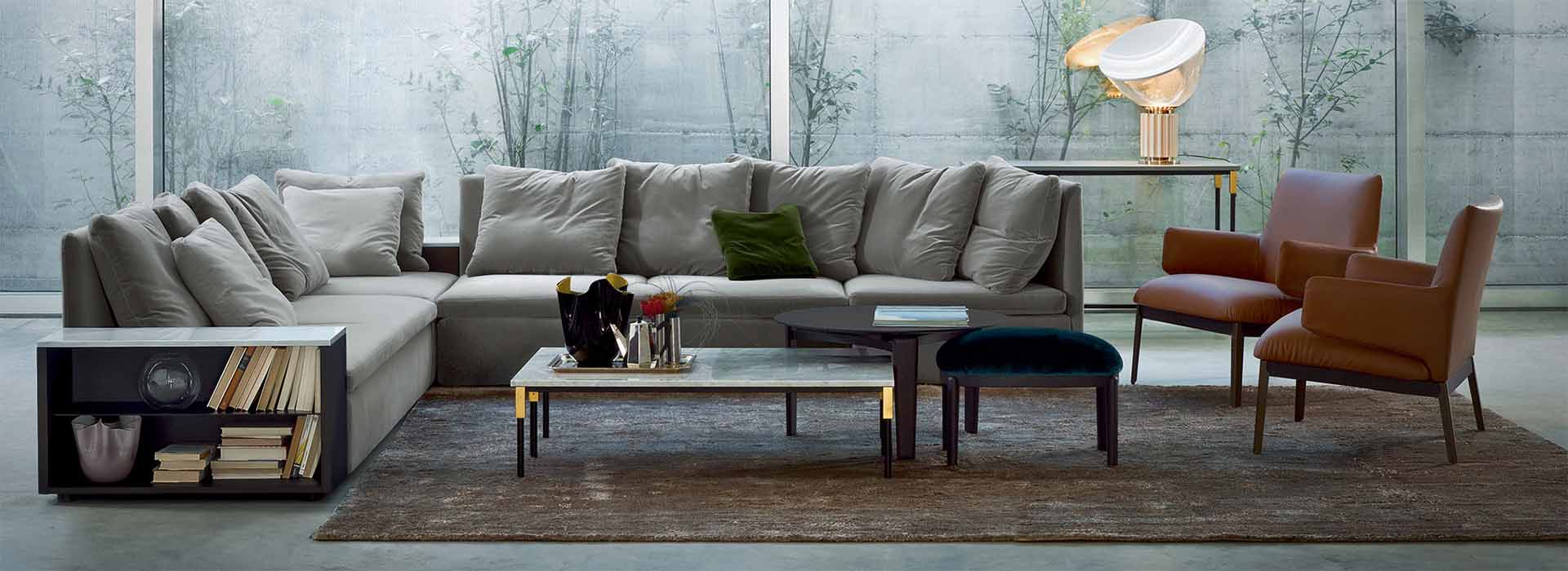 Esperiri takes you shopping to Arflex, one of the best Italian Furniture brands.