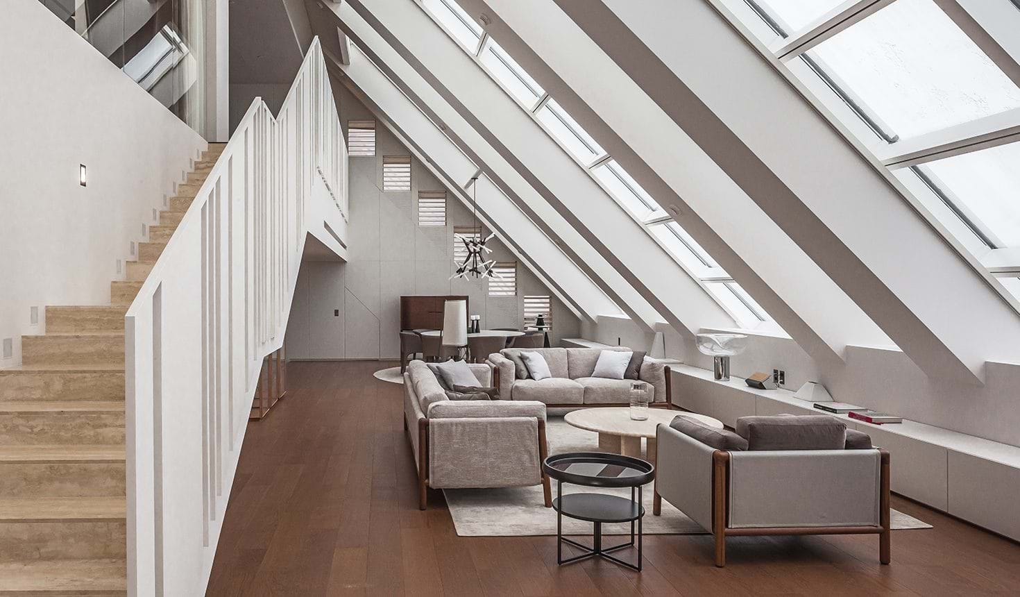 Mercury City Tower, Private Duplex Apartment in Moscow – Giorgetti