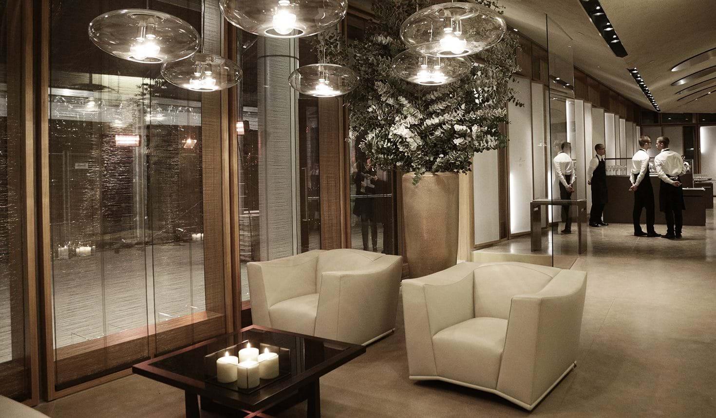 Ristorante Berton in Milan – Interior Design by Giorgetti