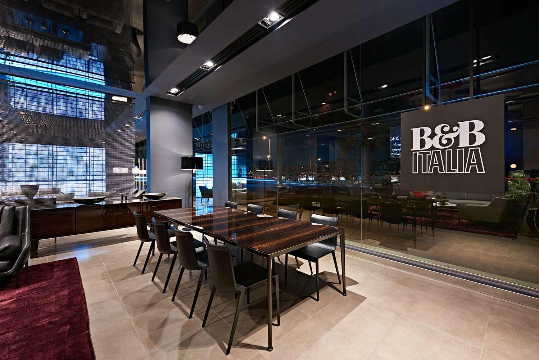 b&b Italia showroom dubai and Italian furniture distributor in dubai