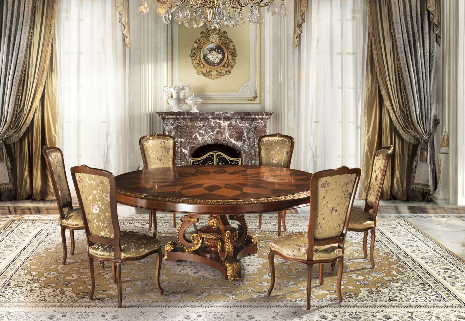 High-End Dining Room Furniture