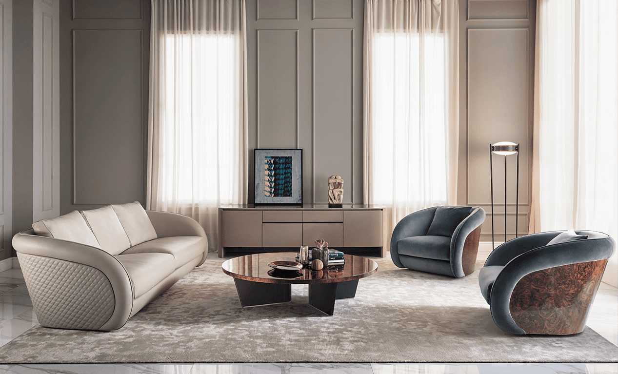 Italian Living Room Furniture High End Living Room Furniture
