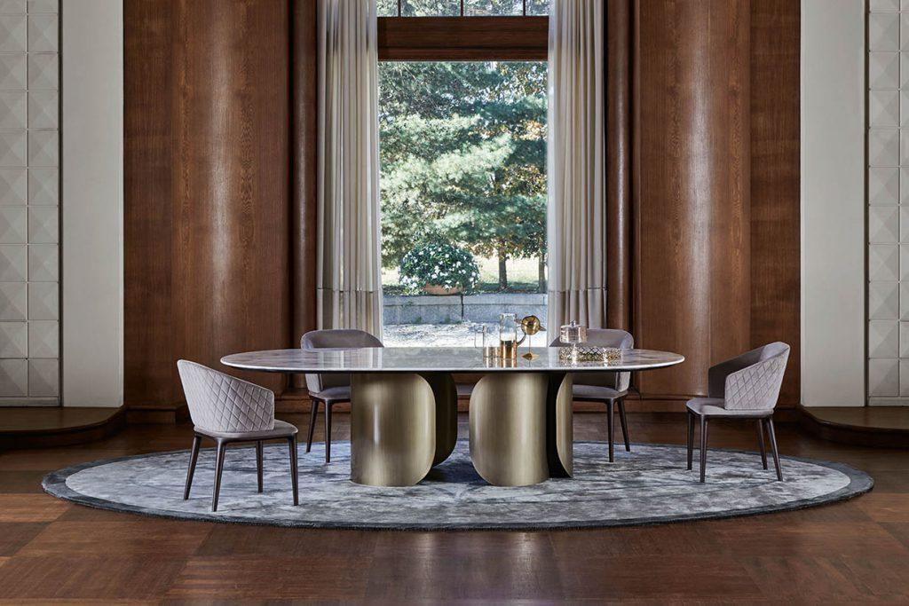 Opera Contemporary Luxury Italian Dining Room Furniture