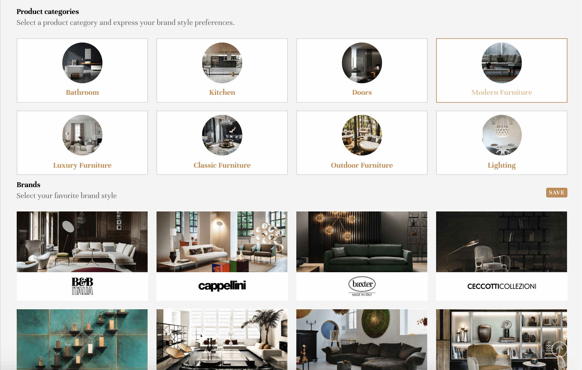 Buy Italian Furniture Online