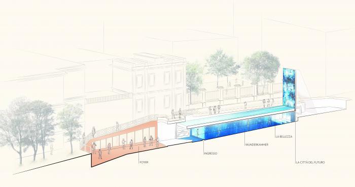 milan design week rendering of an event