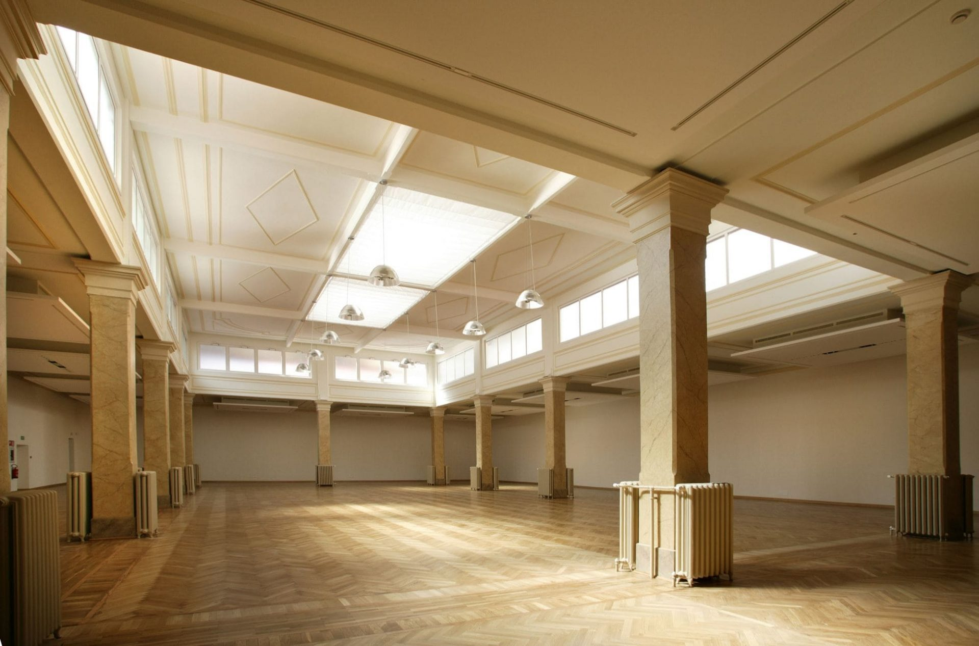 interior image of an empty building