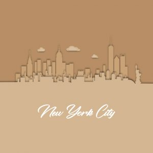 New York skyline to display our interior design project