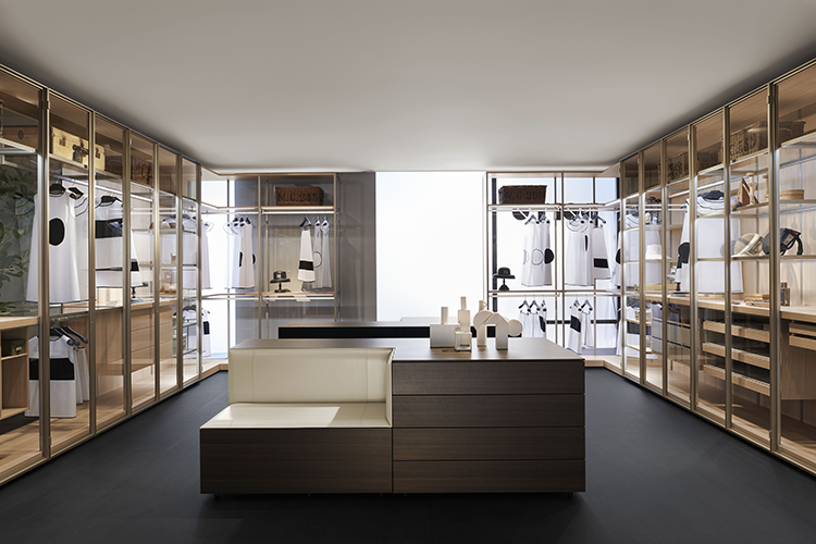Porro Italian Wardrobe Design presented during the last Milan Design Week