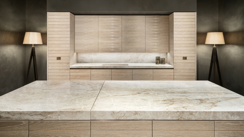 Armani slide kitchen a luxury modern italian kitchen