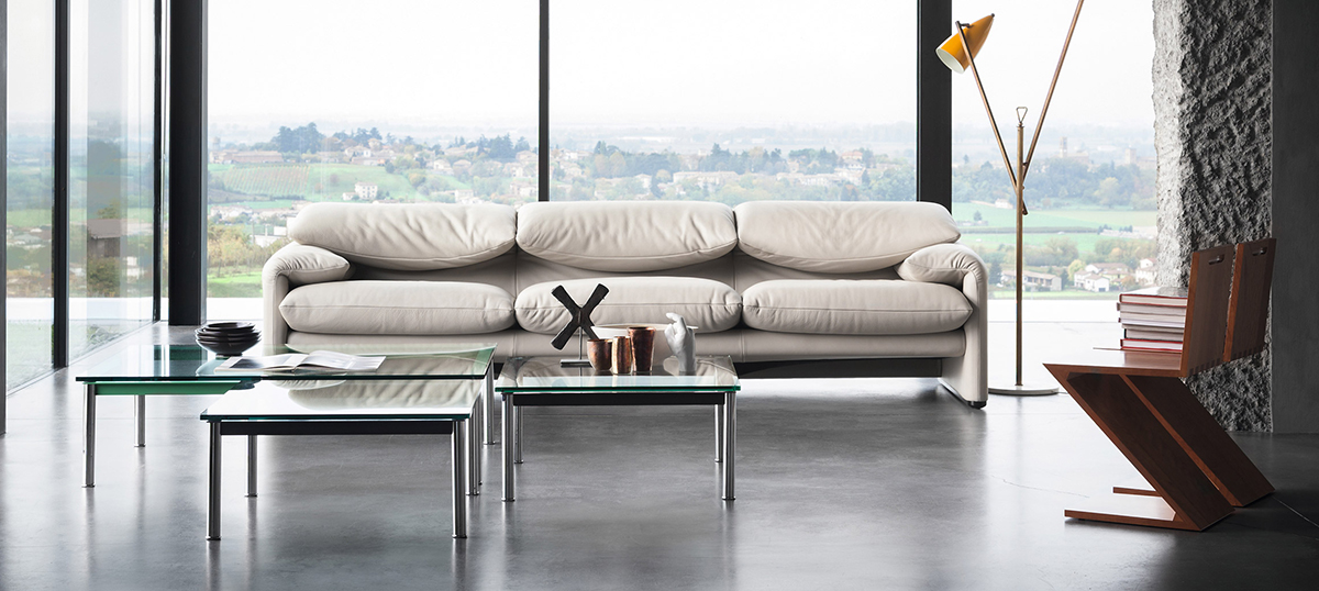 maralunga sofa from Cassina one of the best Italian sofa brands