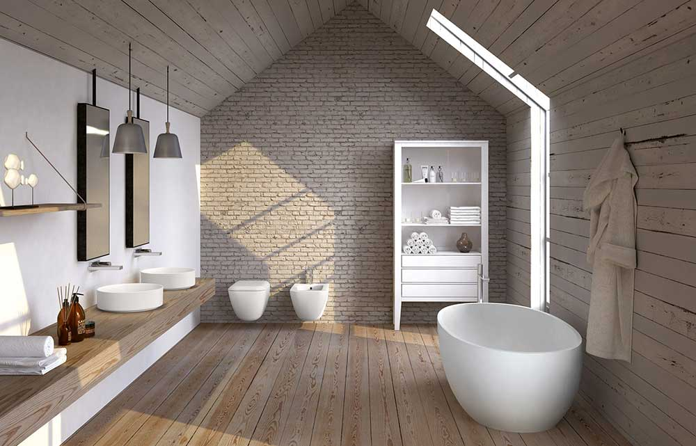 cielo bathroom one of the best Italian sanitary ware brands in a contemporary house