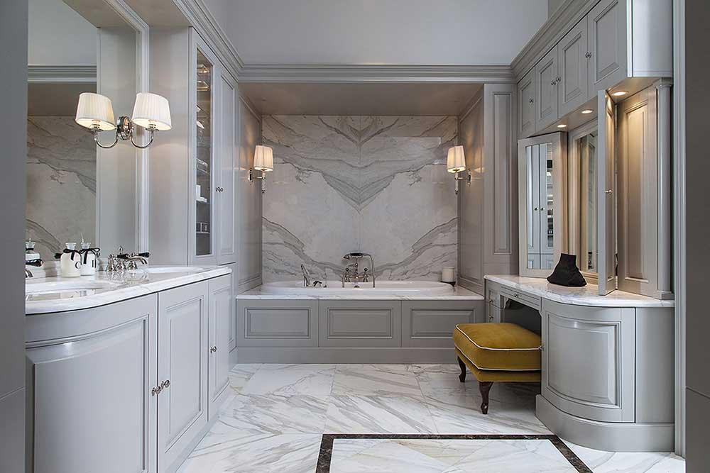 a luxury Italian bathroom produced by devon and devon one of the best Italian bathroom brands