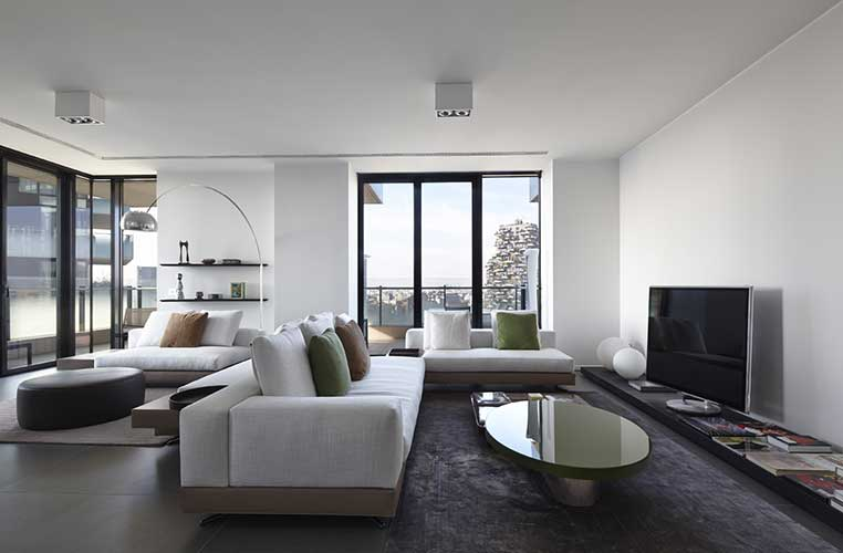 luxury interior design project by an Italian interior design company led by rachele pellegatta