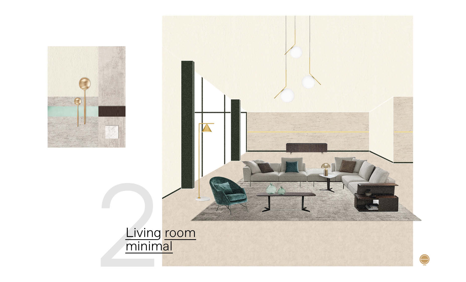 Italian mdoern living room designs by Esperiri Milano team of Italian interior designers