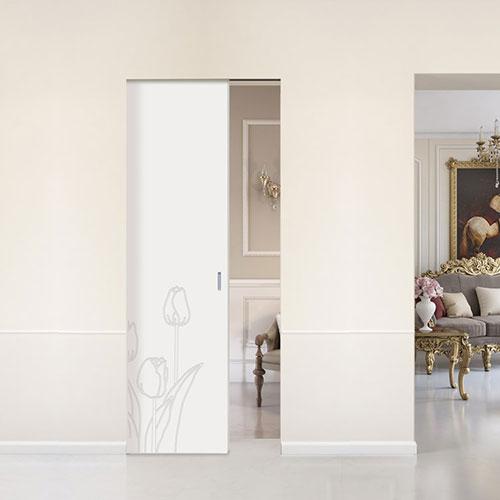 decorated interior door by bertolotto one of the best Italian door manufacturers