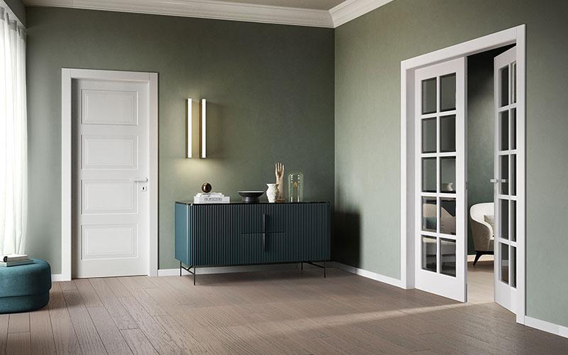 modern Italian interior doors produced by garofoli one of the best Italian door manufacturers