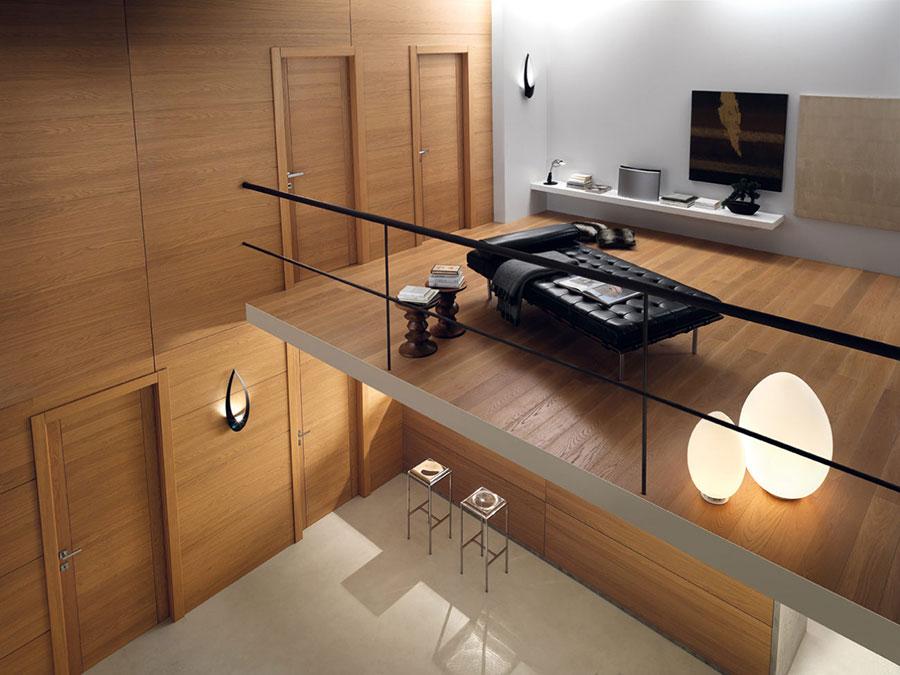 garofoli Italian doors in wood for high end interiors