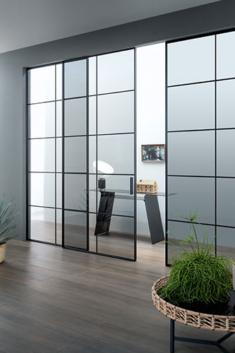 l7 plus by lualdi doors a sliding glass door