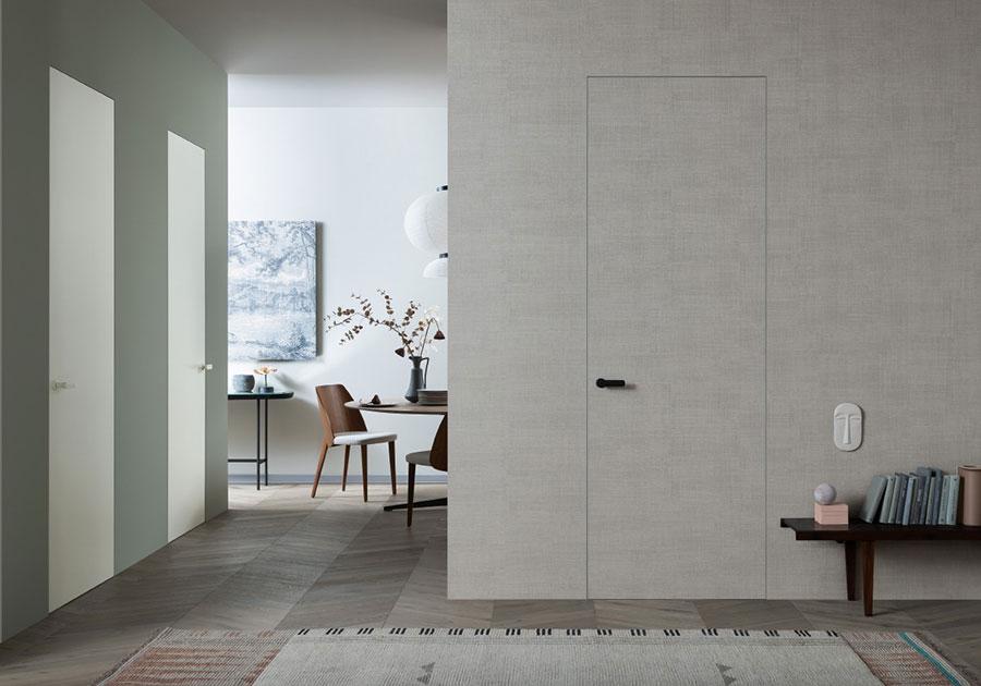 rasomuro door part of the best Italian doors manufactured by lualdi
