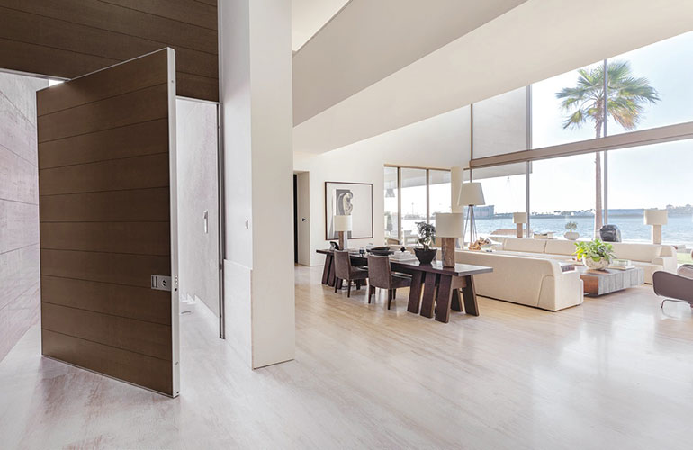 modern safety entrance door by oikos a producer of the best Italian doors
