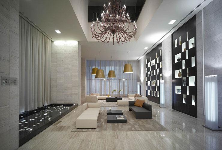 interiors of the VQ ventiquattro radisson in dubai designed by Matteo nunziati showcasing Italian interior design in Dubai