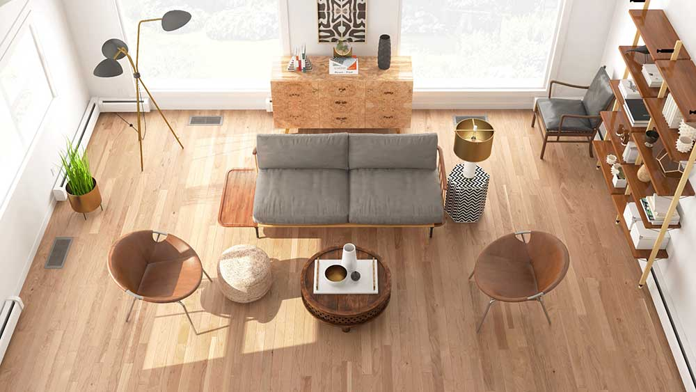 3d render of one of the best online interior design services provider