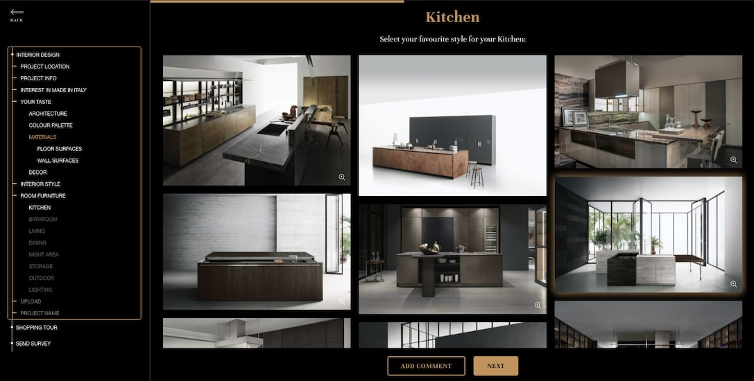 inspirational pictures of high end Italian designer kitchens part of esperiri discover your Italian home decor style