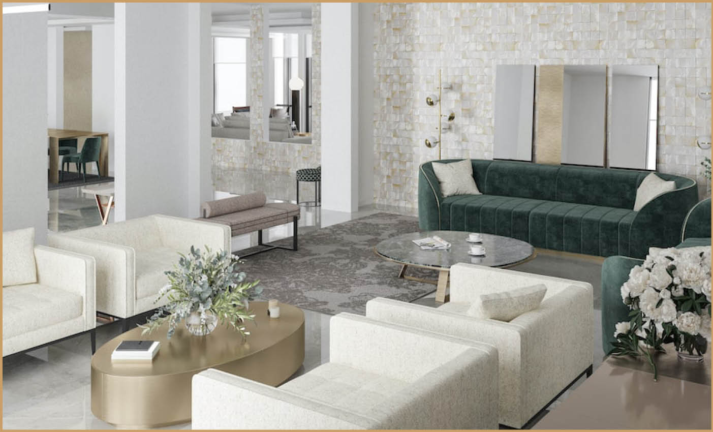 High End Residential Interior Design Projects Italian Interior Design
