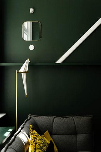 details of a living room designer by Italian interior designers online