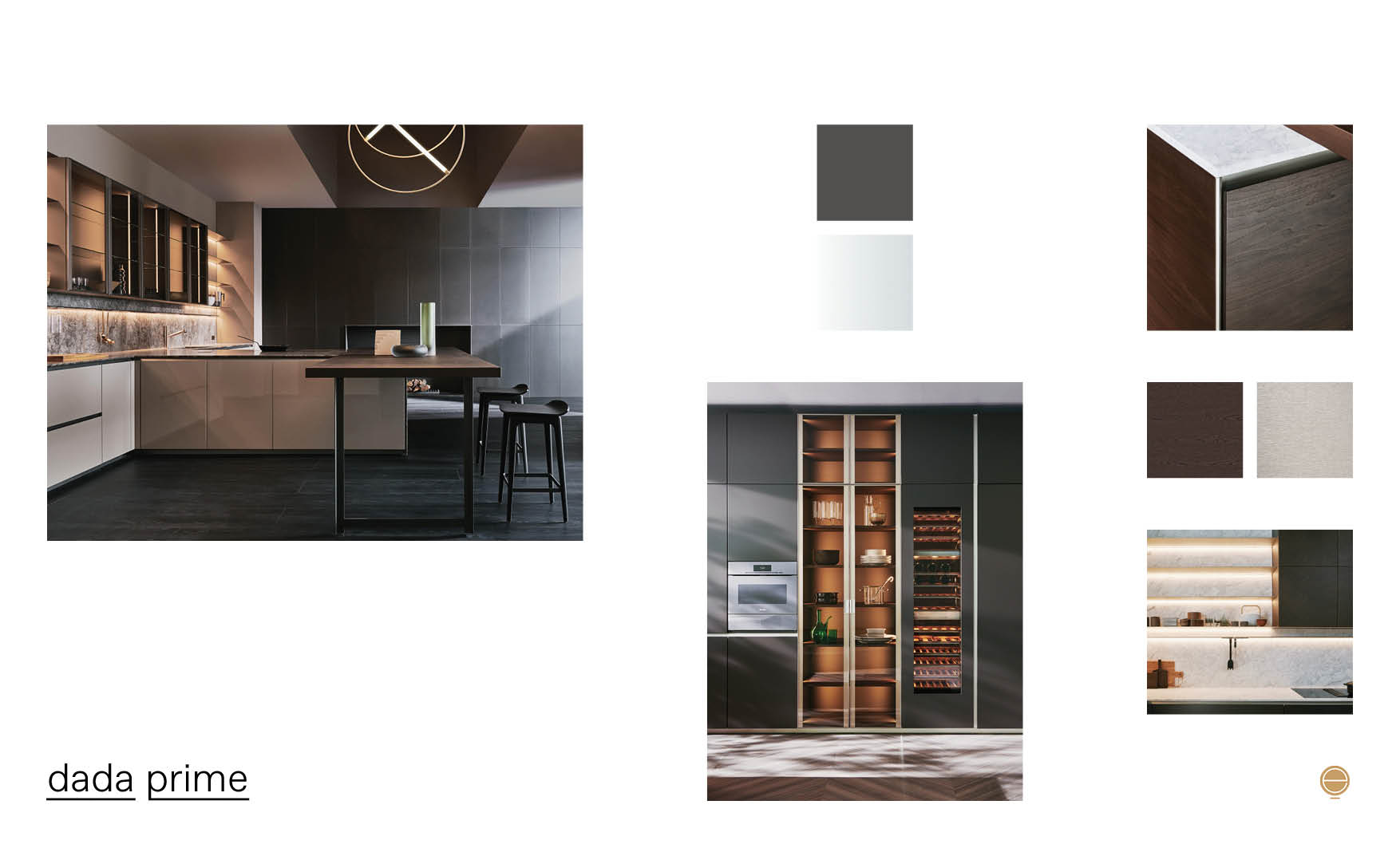 modern Italian kitchen design and dada prime product