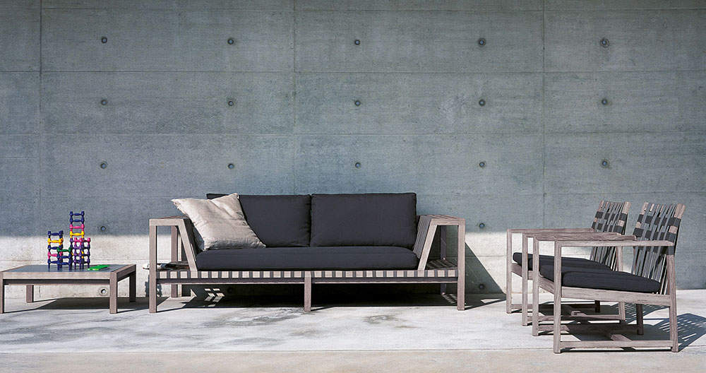 network sofa set by roda one of the best outdoor furniture brands