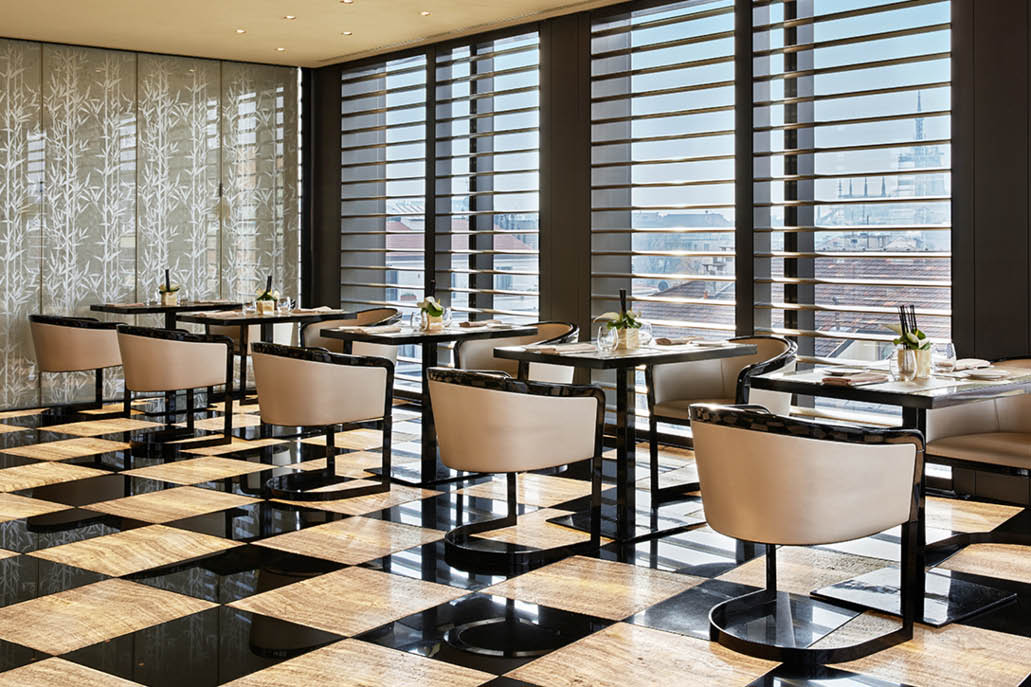 Italian furniture shopping tour and design restaurants