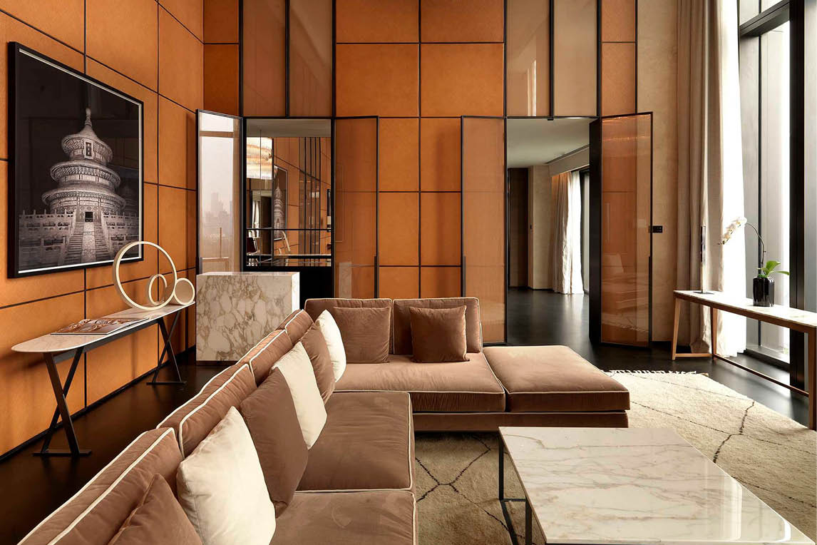 luxury furniture shopping tour and design hotel in Milan
