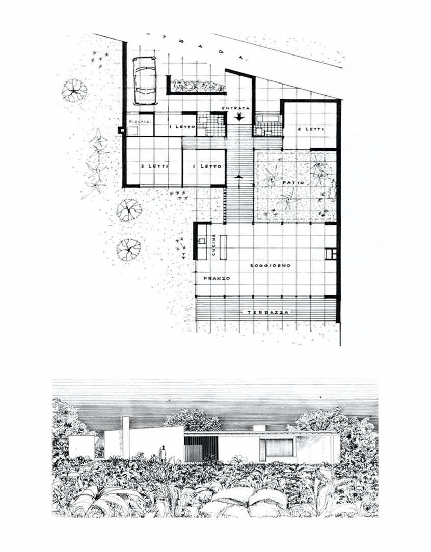 architectural project of a villa for a luxury home renovation project by our italian interior residential contractor