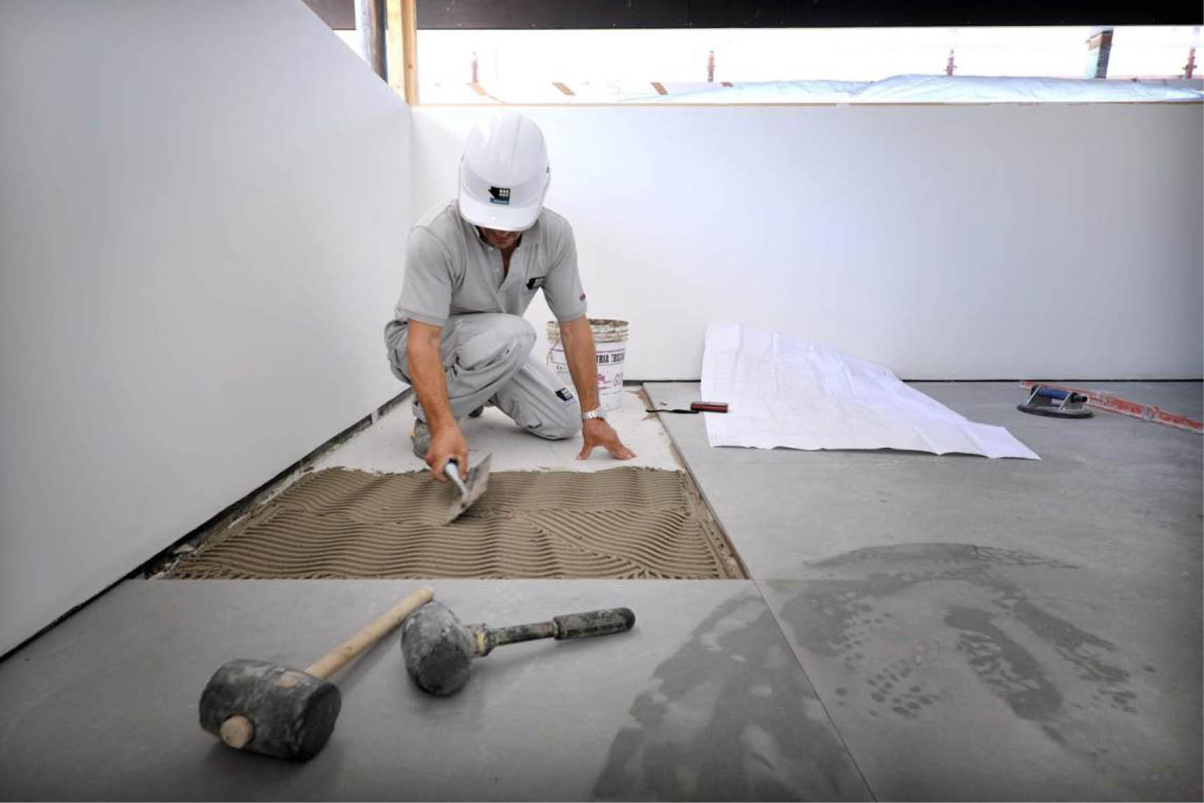 luxury home renovation and site management phase