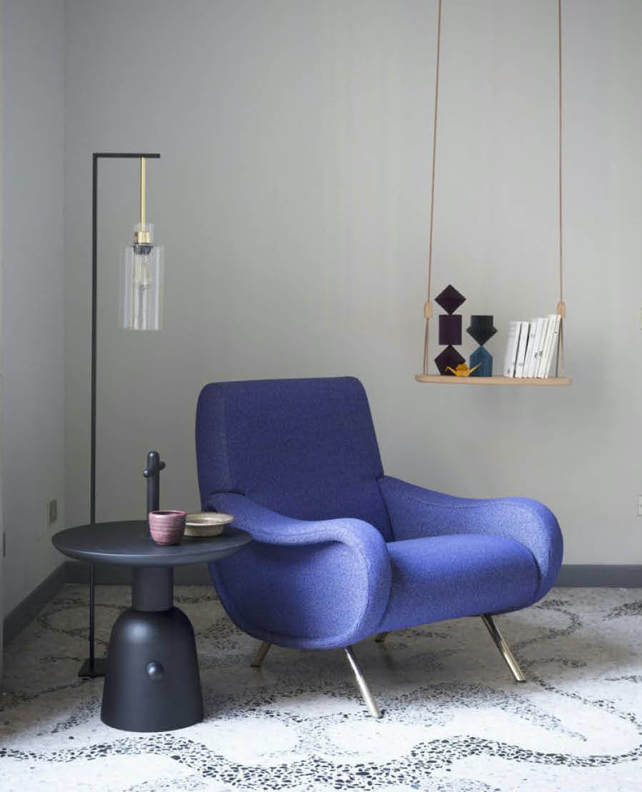 cassina lady chair used in a luxury home staging project