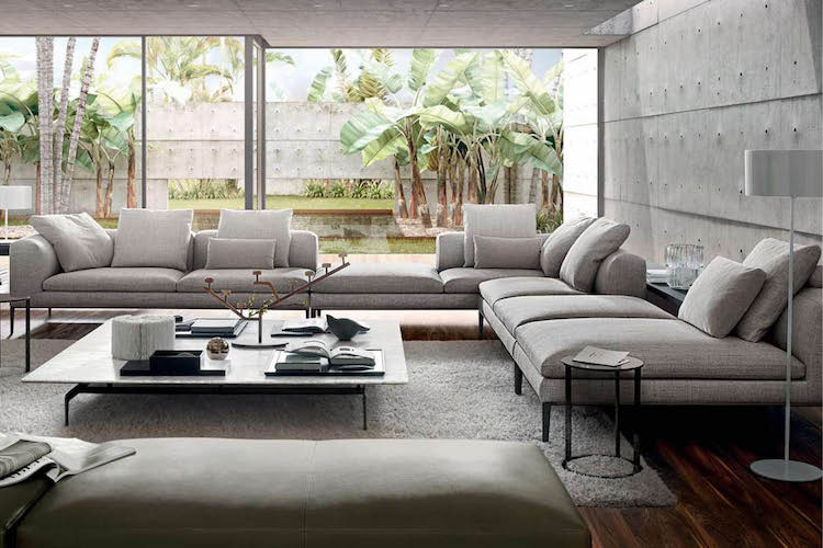 charles sofa by beb italia an italian furniture producer
