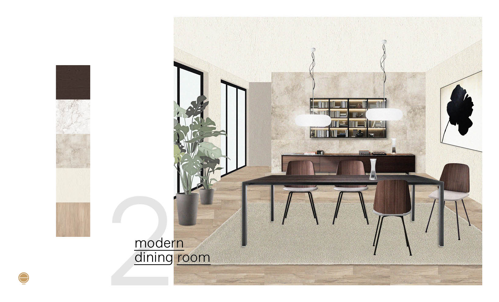 inspiration for your modern Italian dining room set