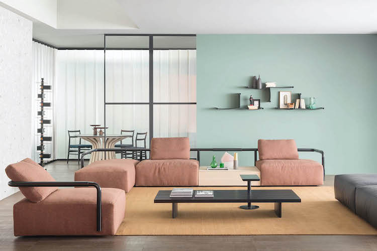 cassina sofa a piece of modern italian furniture distributed by esperiri milano