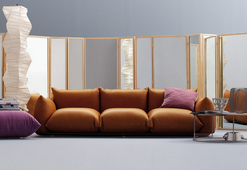 Select the best solution for your living room among our best Italian leather sofa brands