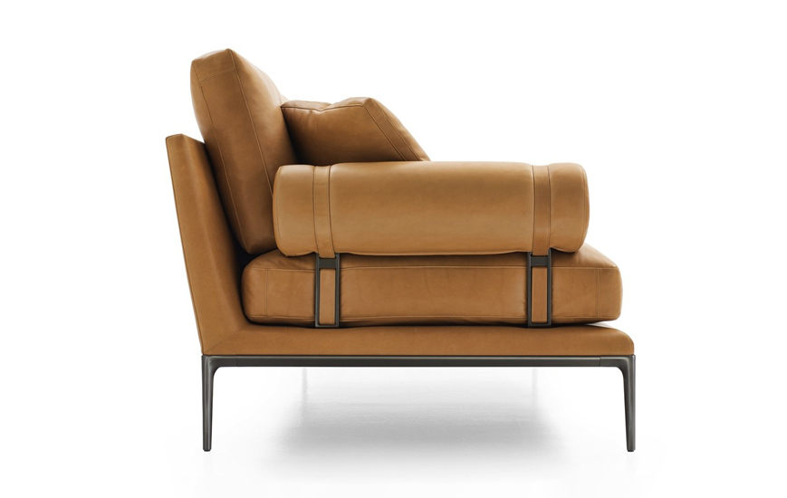 B&B Italia Atoll collection is one of the best Italian leather sofa brands