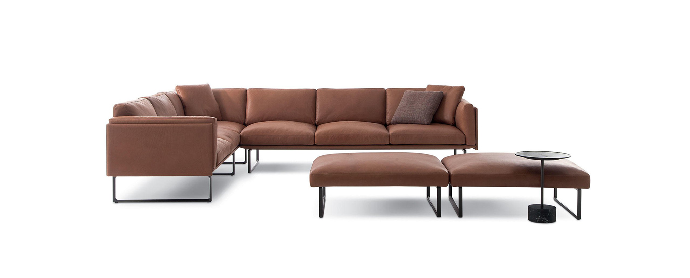elegance and design are two important features which belong to our top Italian leather sofa brands