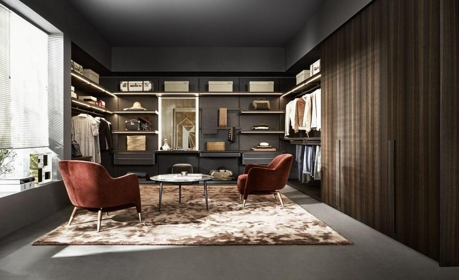 Design your Molteni Master Dressing with our Italian interior designer
