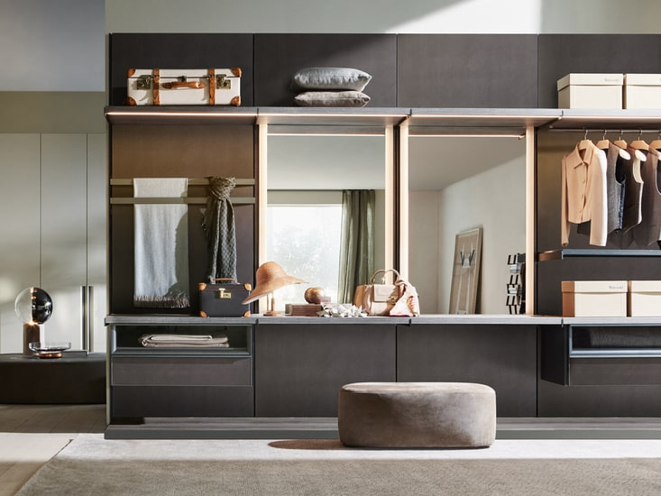 Discover all the features of Master Dressing by Molteni and its minimal design