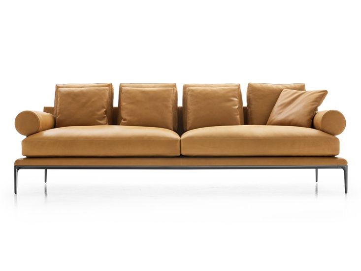 B&B Italia is undoubtedly one of the best Italian leather sofa brands