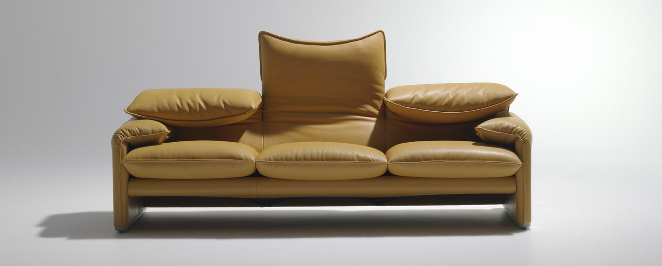 Maralunga sofa and Italian furniture in New York City