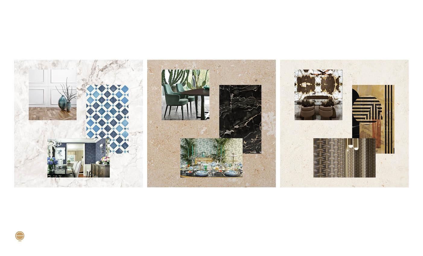 luxury dining room design concept made by Esperiri Milano