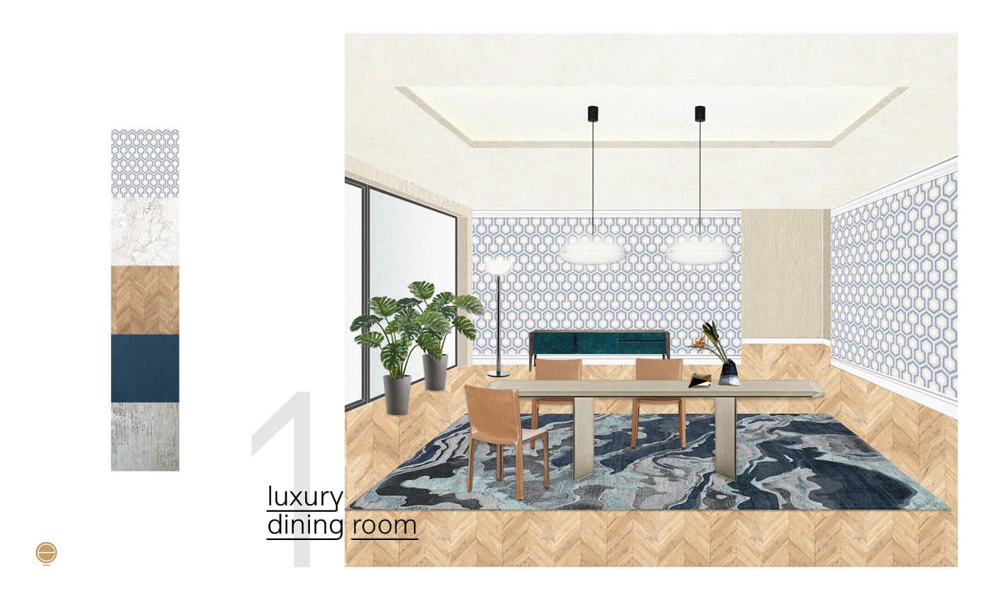 Italian luxury dining room furniture inspiration