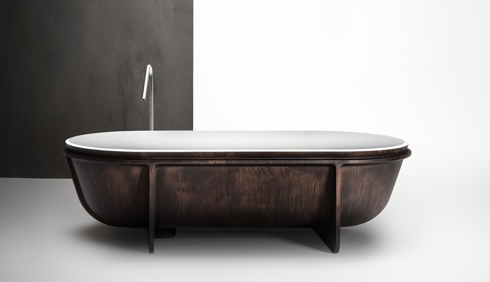 luxury bathtubs controstampo falper freestanding