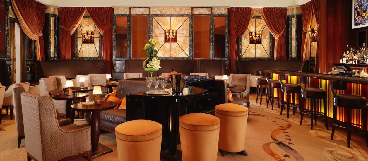 best hotels milano and Principe di Savoia Hotel lounge bar